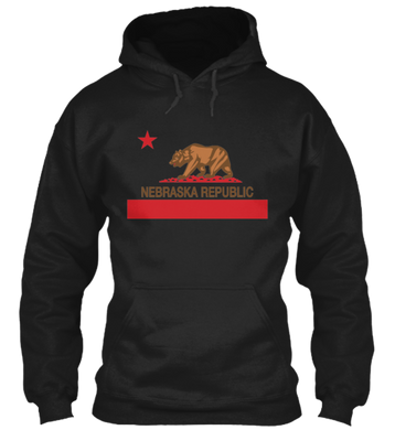 The New Nebraska Republic Hoodie