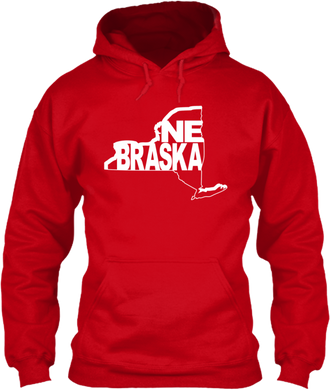 New York for Nebraska Hoodie