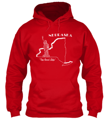 Nebraska the Empire State Hoodie