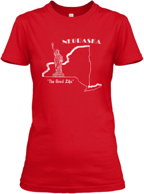 Nebraska the Empire State Women's T