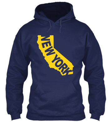 New York in California Hoodie