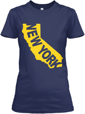 New York in California Women's T