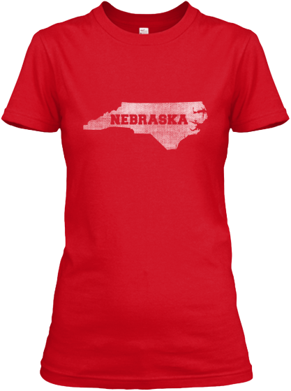 North Carolina for Nebraska Women's T