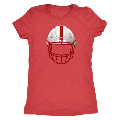 The 402 Nebraska Helmet Women's Tee