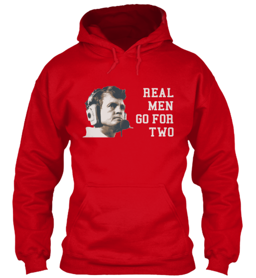 Real Men Go For Two Hoodie