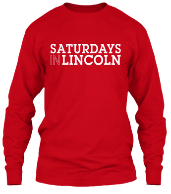 Saturdays in Lincoln Long Sleeve