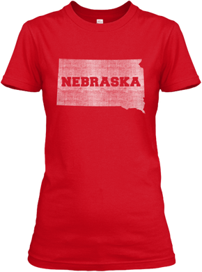 South Dakota for Nebraska Women's T