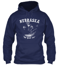Load image into Gallery viewer, Surf Nebraska Hoodie
