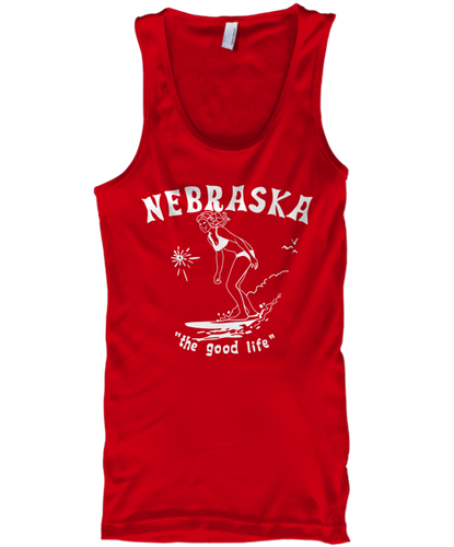 Surf Nebraska Men's Tank