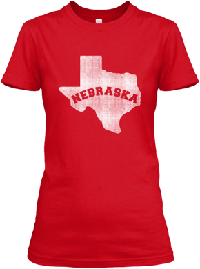 Texas for Nebraska Women's T