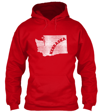 Washington for Nebraska Hoodie