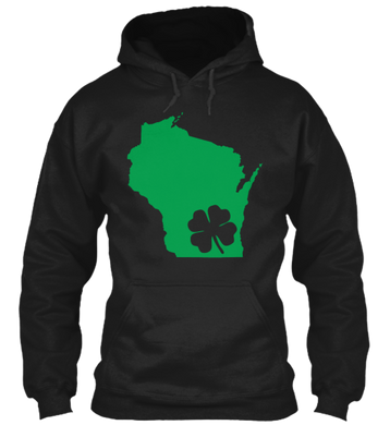 St. Patty's for Wisconsin Hoodie