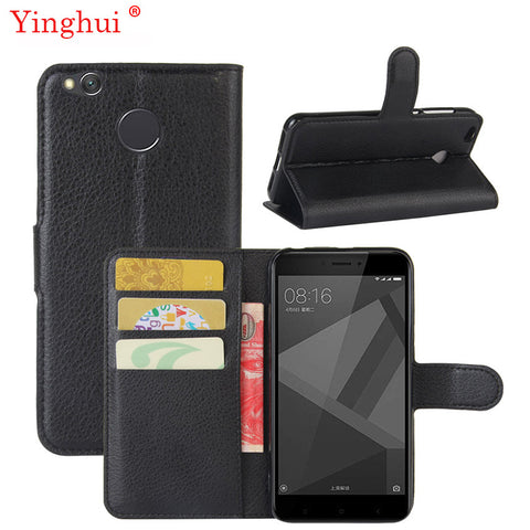 4X Leather Case For Xiaomi Redm