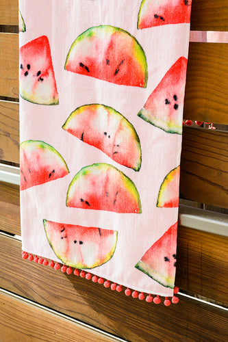 Watermelon Slices Towel