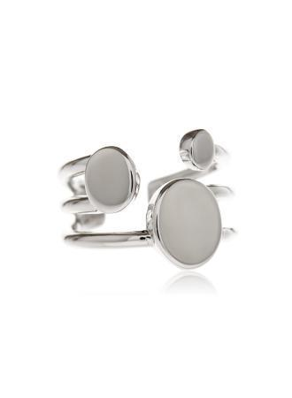Triple Disc Cuff Ring