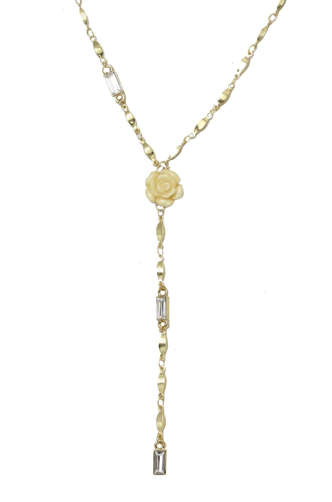 Everything is Rosie Lariat Necklace