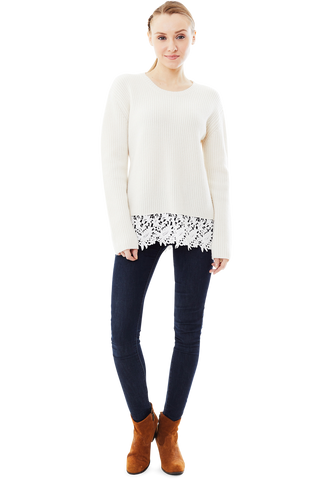 Whitney Lace Sweater