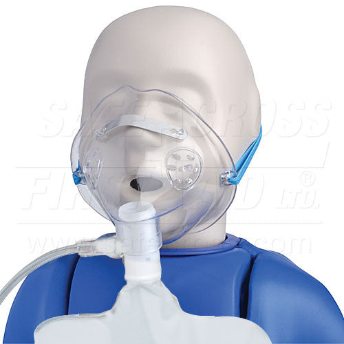 Partial Non-Rebreathing Mask - FAST Rescue Safety Supplies & Training - 1