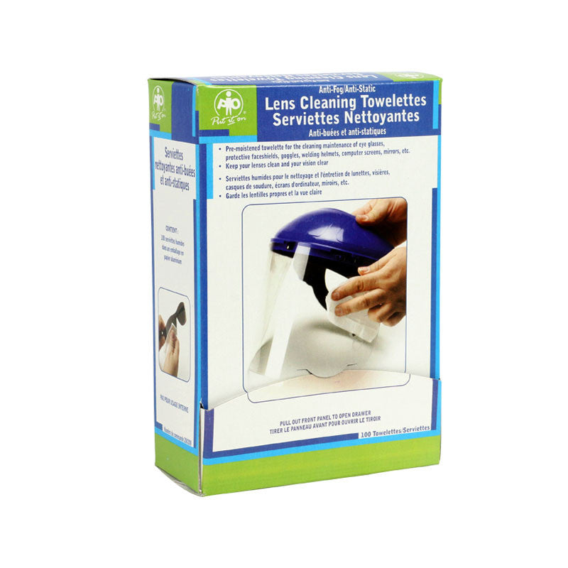 Lens Cleaning Towelettes-FAST Rescue Safety Supplies & Training, Ontario