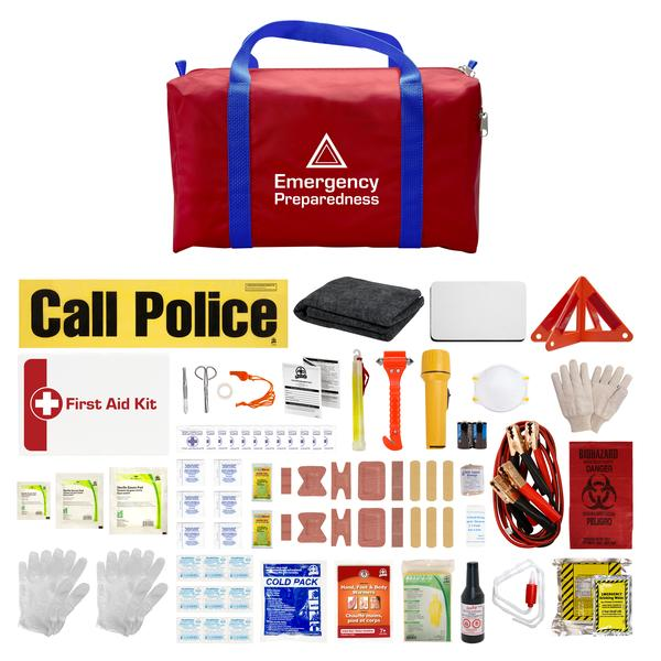Deluxe Emergency Preparedness Car Kit-FAST Rescue Safety Supplies & Training, Ontario