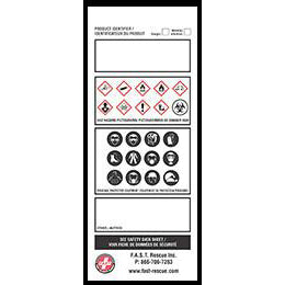 Workplace Labels-FAST Rescue Safety Supplies & Training, Ontario