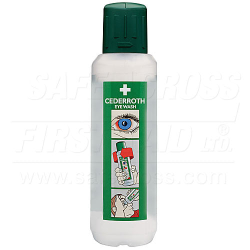 Cederroth Eye Wash Large-FAST Rescue Safety Supplies & Training, Ontario