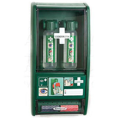 Cederroth Eye Wash/Bandage Station-FAST Rescue Safety Supplies & Training, Ontario