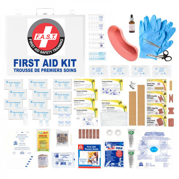 Ontario Section 10 First Aid Kit-FAST Rescue Safety Supplies & Training, Ontario