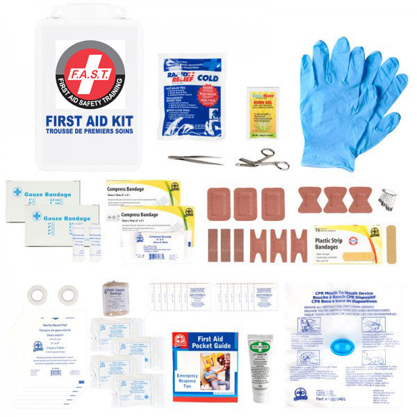 Ontario TCFB First Aid Kit - FAST Rescue Safety Supplies & Training
