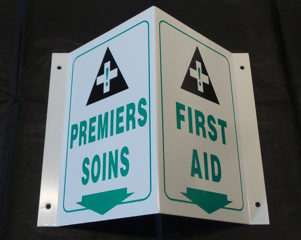 Projection First Aid Sign-FAST Rescue Safety Supplies & Training, Ontario