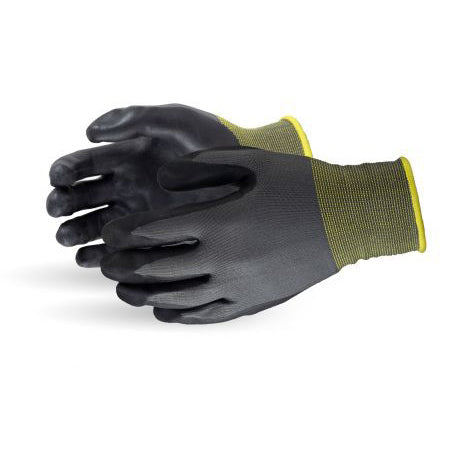String Black Foam Nitrile Palm Coated (Qty: 12 Pair)