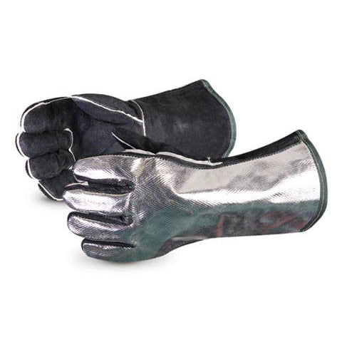 Endura Aluminized Back Welding Glove / Mitt-FAST Rescue Safety Supplies & Training, Ontario