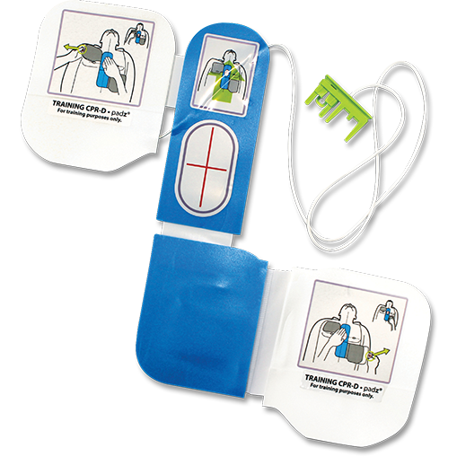 Zoll AED Plus Training Padz-FAST Rescue Safety Supplies & Training, Ontario