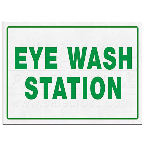 Eye Wash Station Signs-FAST Rescue Safety Supplies & Training, Ontario