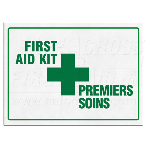 First Aid Kit Signs - FAST Rescue Safety Supplies & Training
