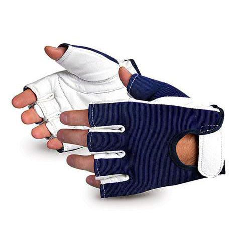 Goatskin Leather Palm Vibration-Dampening Gloves (12 pairs)-FAST Rescue Safety Supplies & Training, Ontario