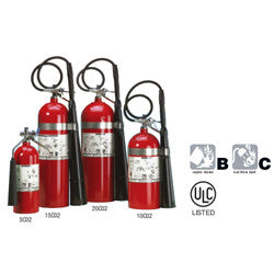 Class CO2 Fire Extinguishers-FAST Rescue Safety Supplies & Training, Ontario