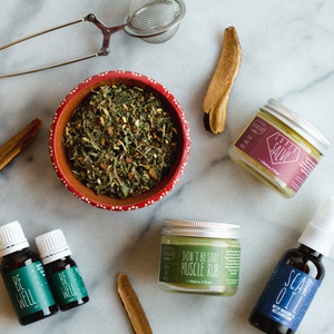 medicinal herbs and salves