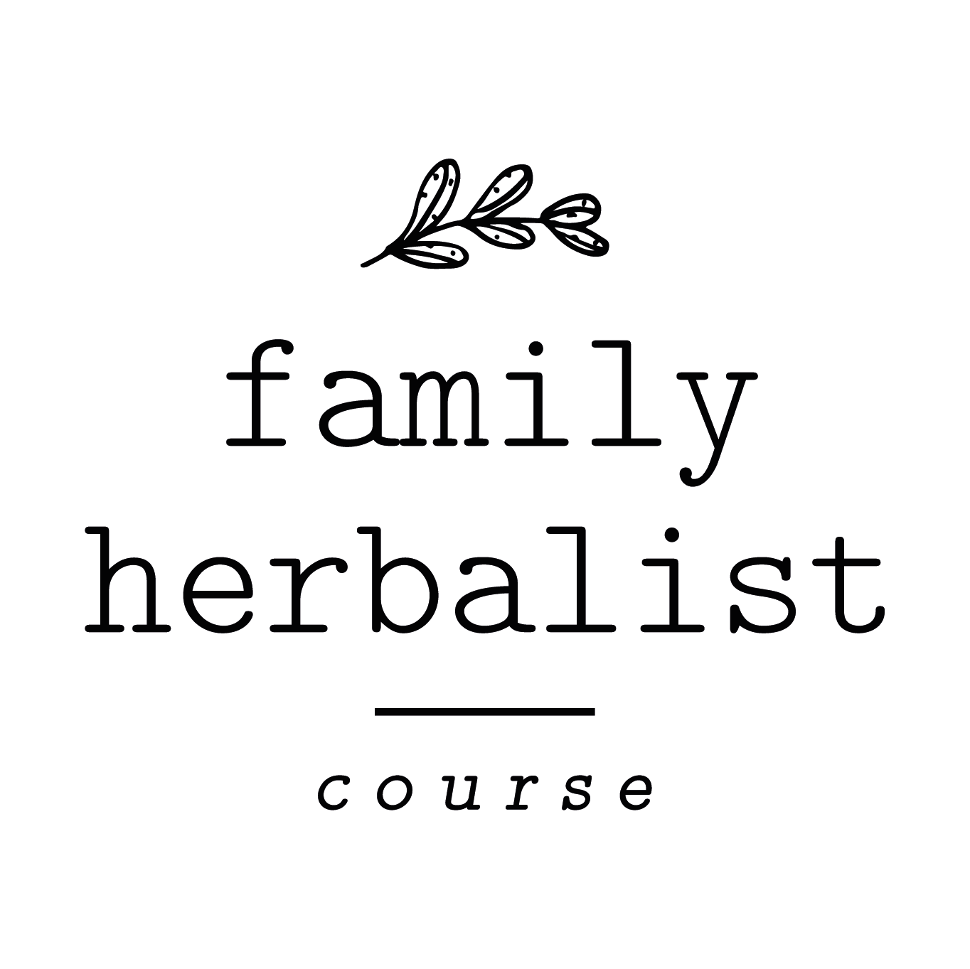 Family Herbalist Course : Level 2 / September 23-October 22nd
