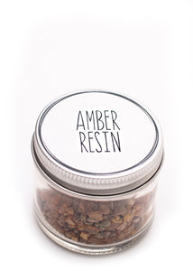 Amber Resin 1oz Jar