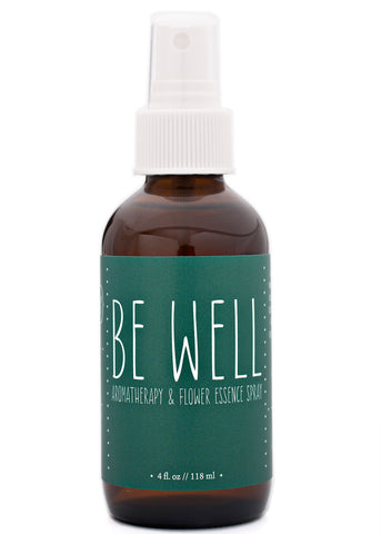 Be Well Aromatherapy Flower Essence Spray