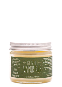 Be Well Vapor Rub