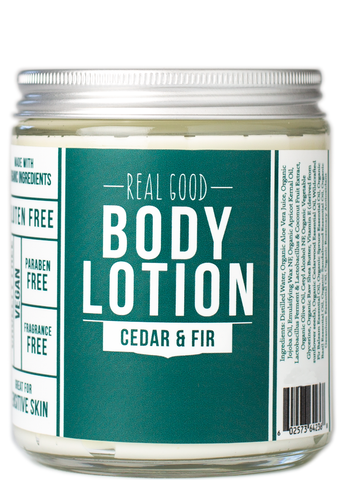 Real Good Body Lotion / Cedar & Fir  {new packaging!}