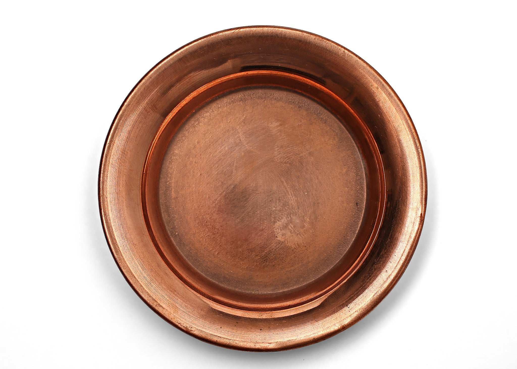 Tibetan Copper Offering Plate