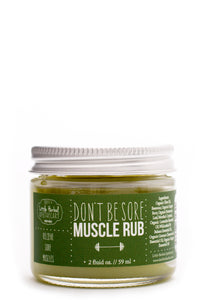 Don't Be Sore Muscle Rub
