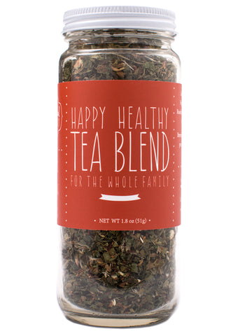Healthy tea blend with vitamins and minerals