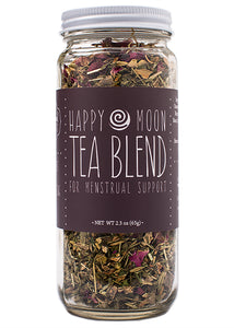 moon tea blend for menstrual pain and cramps