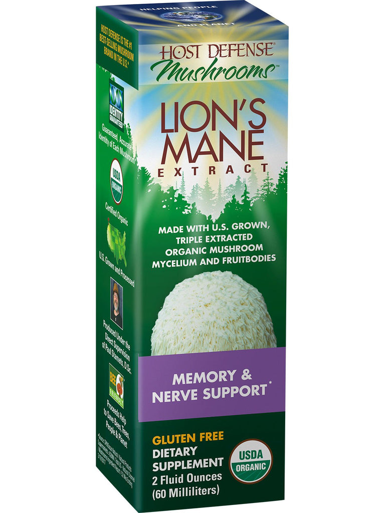 lion's mane extract  host defense  little herbal apothecary