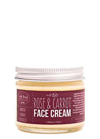 Rose & Carrot Face Cream