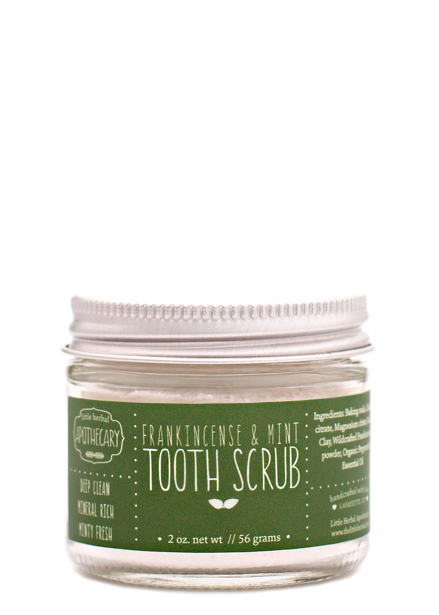 Frankincense & Mint Tooth Scrub